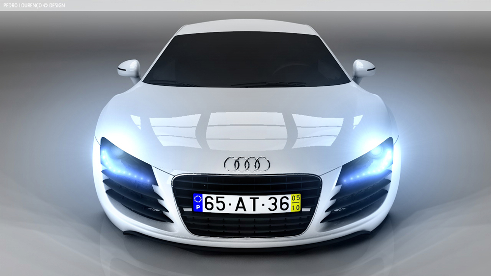 Audi Creativepeat - Audi car 3d